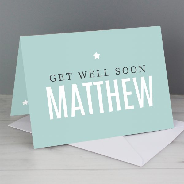 Personalise With Your Own I miss you Message Card