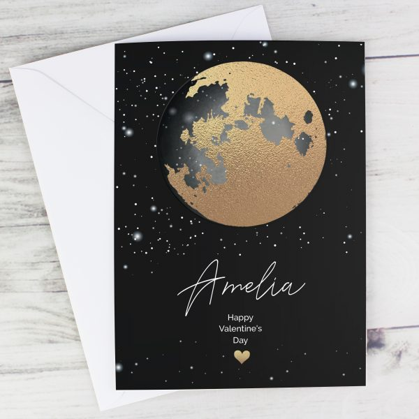 Personalised You Are My Sun My Moon Romantic Card