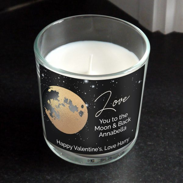 Personalised You Are My Sun My Moon Romantic Scented Jar Candle