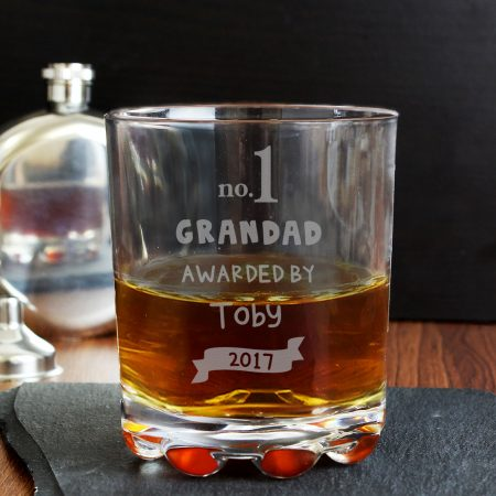 Personalised no.1 Grandad Awarded By Tumbler