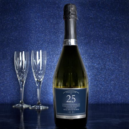 Personalised Grandad Birthday And Anniversary Bottle of Prosecco