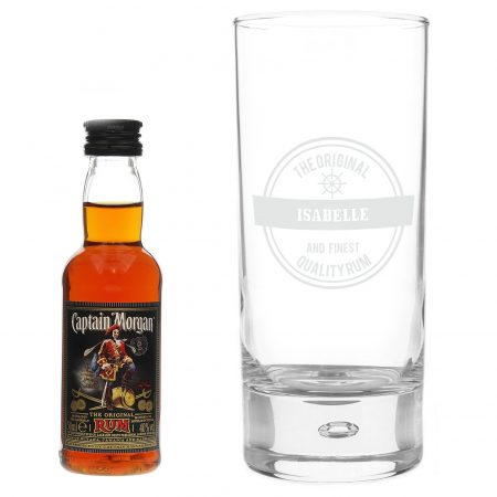 Father's Day Special Nautical Hi Ball & Rum Miniature Set