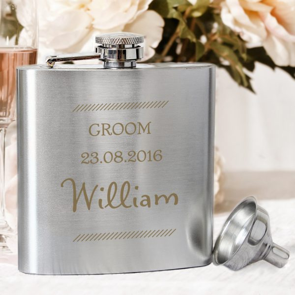 Father's Day Special Personalised Hip Flask