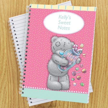 Personalised Me to You Candy Girl A5 Stationery Notebook