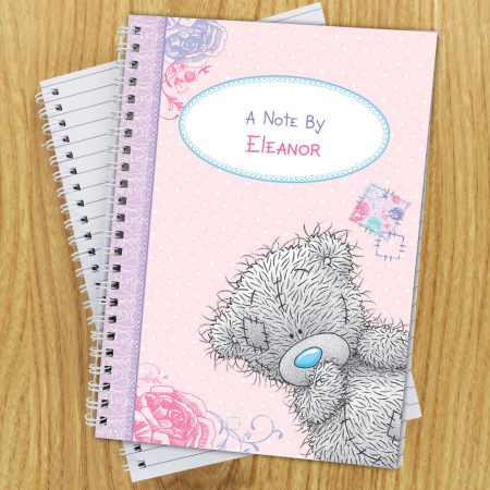 Personalised Me To You Girls A5 Stationery Notebook