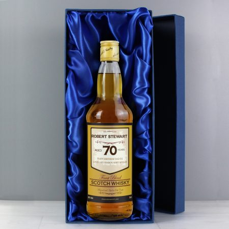 Personalised Grandad Age Whisky with Gift Box
