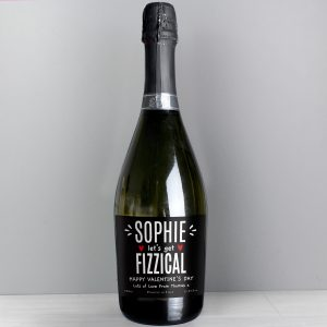 Personalised Let's Get FIZZICAL Prosecco