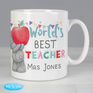 Personalised Me to You World's Best Teacher Leaving Mug
